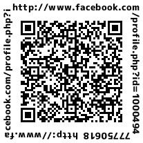 QRコードFACEBOOK